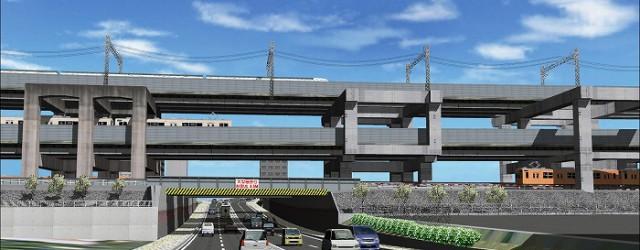 高架部、アンダーパス等、Google Earth、ストリートビューで確認しづらい箇所を、短期で再現する事が可能です。 また多重層となった高架部など、複雑な形状の再現で高架部の高低差のシミュレーションが可能となります。また...