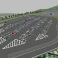 高速道路PAや駐車場など広範囲施設のイメージ作成 *Video: パーキングエリア 駐車場 vr パース cg