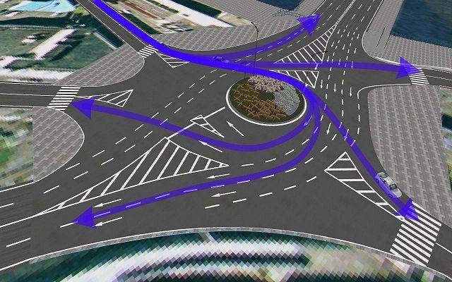 ロータリー交差点
